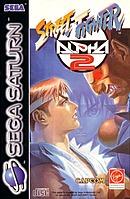 jaquette Saturn Street Fighter Alpha 2