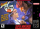 jaquette Super Nintendo Street Fighter Alpha 2
