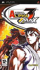 jaquette PSP Street Fighter Alpha 3 Max