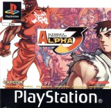 jaquette PlayStation 1 Street Fighter Alpha 3 Max