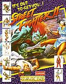 jaquette Amiga Street Fighter II
