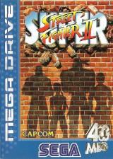 jaquette Megadrive Street Fighter II