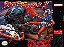 jaquette Super Nintendo Street Fighter II