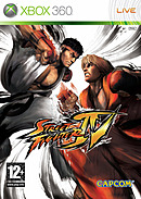 jaquette Xbox 360 Street Fighter IV