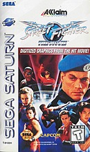 jaquette Saturn Street Fighter The Movie