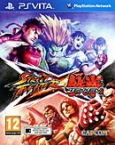 jaquette PS Vita Street Fighter X Tekken