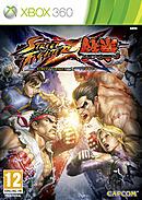 jaquette Xbox 360 Street Fighter X Tekken
