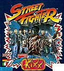 jaquette Amiga Street Fighter