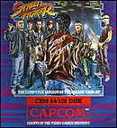 jaquette Commodore 64 Street Fighter