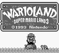 Super Mario Land 3 Wario Land Gameboy 32640361
