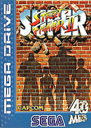 jaquette Megadrive Super Street Fighter II The New Challengers