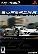 jaquette PlayStation 2 Supercar Street Challenge