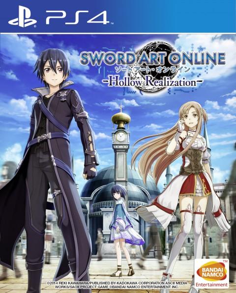 jaquette PlayStation 4 Sword Art Online Hollow Realization