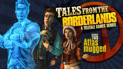 jaquette PlayStation 3 Tales From The Borderlands Episode 2 Atlas Mugged