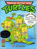 jaquette Amstrad CPC Teenage Mutant Ninja Turtles 1989