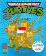 jaquette Atari ST Teenage Mutant Ninja Turtles 1989