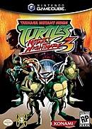 jaquette Gamecube Teenage Mutant Ninja Turtles 3 Mutant Nightmare