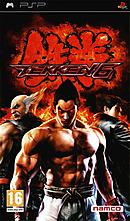 jaquette PSP Tekken 6