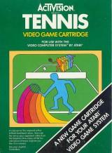 jaquette Atari 2600 VCS Tennis