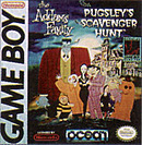 jaquette Gameboy The Addams Family Pugsley s Scavenger Hunt