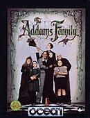 jaquette Amstrad CPC The Addams Family