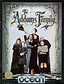 jaquette Commodore 64 The Addams Family