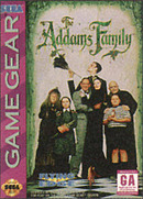 jaquette Game Gear The Addams Family