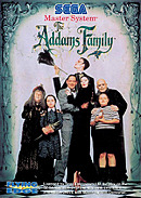 jaquette Master System The Addams Family