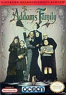 jaquette Nes The Addams Family