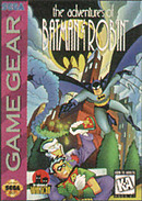 jaquette Game Gear The Adventures Of Batman Robin