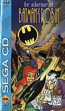 jaquette Mega CD The Adventures Of Batman Robin