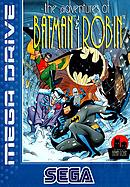 jaquette Megadrive The Adventures Of Batman Robin