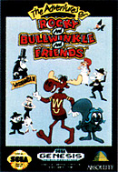 jaquette Megadrive The Adventures Of Rocky And Bullwinkle And Friends