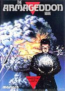 jaquette Commodore 64 The Armageddon Man