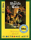 jaquette Commodore 64 The Bard s Tale Tales Of The Unknown Volume I