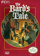 jaquette Nes The Bard s Tale