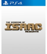 jaquette PlayStation 4 The Binding Of Isaac Rebirth