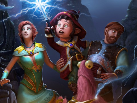 jaquette PlayStation 4 The Book Of Unwritten Tales 2