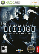 jaquette Xbox 360 The Chronicles Of Riddick Assault On Dark Athena