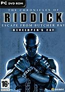 jaquette PC The Chronicles Of Riddick Escape From Butcher Bay Developer s Cut