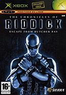 jaquette Xbox The Chronicles Of Riddick Escape From Butcher Bay