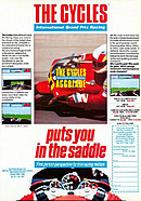 jaquette Amstrad CPC The Cycles International Grand Prix Racing