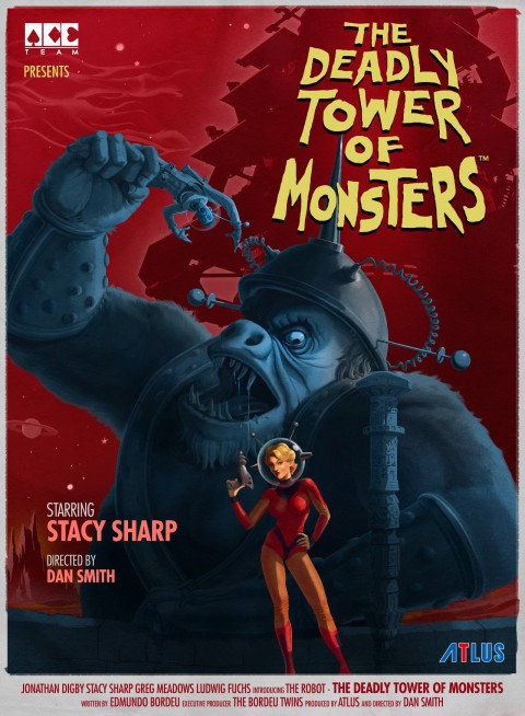 jaquette PlayStation 4 The Deadly Tower Of Monsters