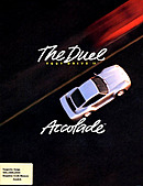 jaquette Amiga The Duel Test Drive II