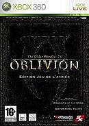 jaquette Xbox 360 The Elder Scrolls IV Oblivion Edition Jeu De L Annee