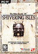 jaquette PC The Elder Scrolls IV Oblivion The Shivering Isles