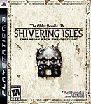 jaquette PlayStation 3 The Elder Scrolls IV Oblivion The Shivering Isles