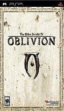jaquette PSP The Elder Scrolls Travels Oblivion
