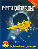 jaquette Commodore 64 The Fifth Quadrant