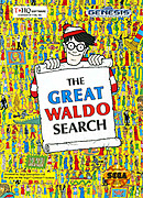 jaquette Megadrive The Great Waldo Search